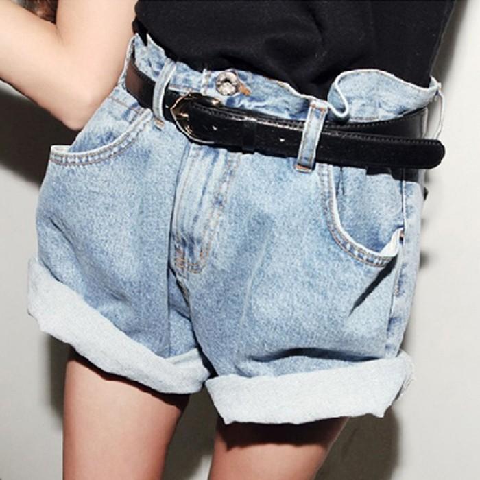 bf 風寬松顯瘦胖mm 加大碼闊腿高腰牛仔短褲卷邊熱褲zw 寬褲褲裙長洋裝背心吊帶裙襯衫套