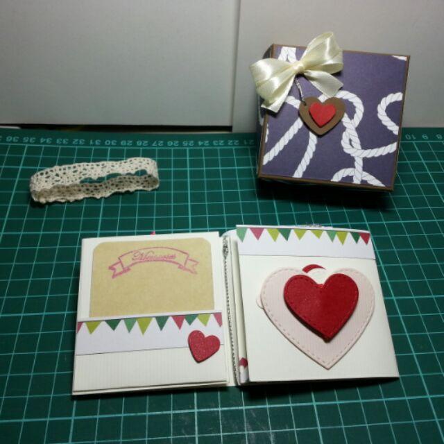 預定卡片 盒,情人節 ,生日 ,機關卡片, 卡片
