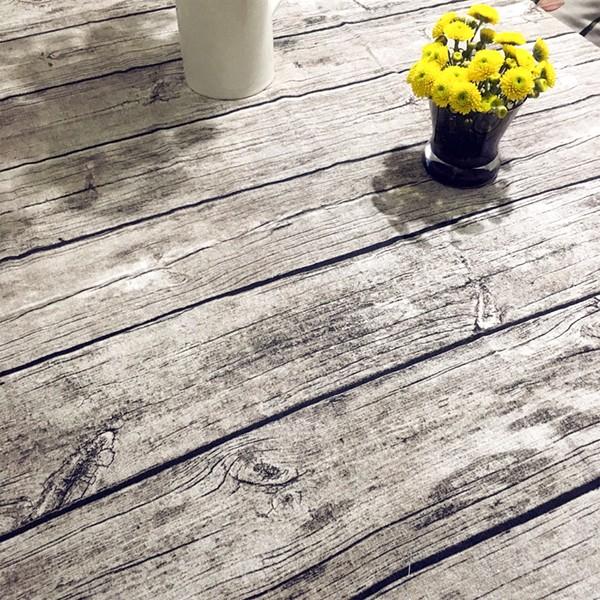 復古仿木紋桌巾桌布棉麻樹皮紋茶几布拍攝攝影好物桌布背景布 約10 14 天