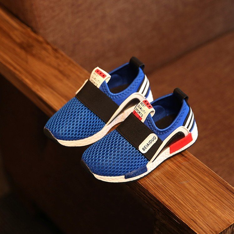 童年不同樣 童鞋休閒鞋布鞋2016 秋 兒童鞋男童 鞋女童網布輕便跑步鞋防滑針織 球鞋