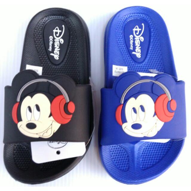 Disney 迪士尼米奇米妮拖鞋止滑透氣抗菌防臭易穿脱