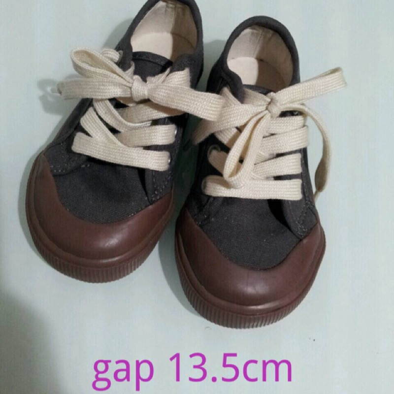 gap 帆布鞋13 5cm