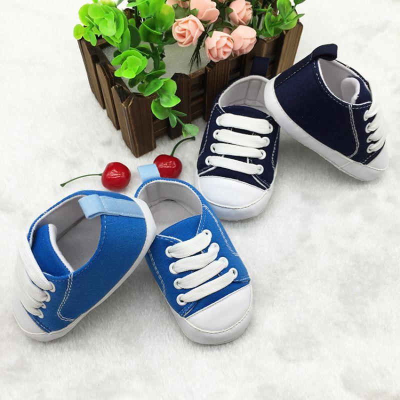 ~ 寶寶 ~媽媽寶寶 款baby boy girls 可愛帆布軟底嬰兒鞋