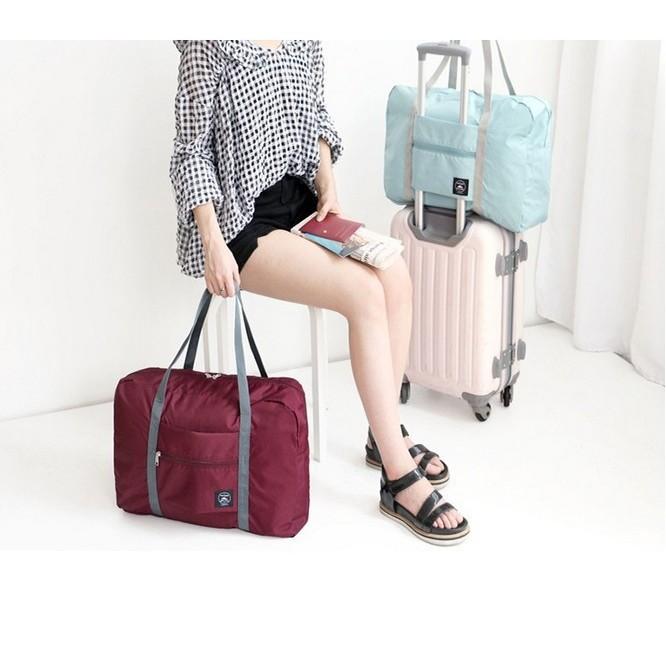 ~~本月 ~~ ~~差旅防水可折疊旅行包 單肩包男女式加大整理袋行李包收納袋