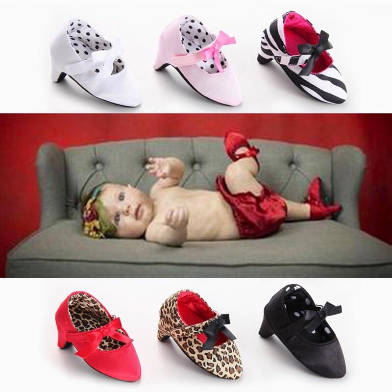 曈曈Baby 潮款VALENSINA 華倫新浪外貿嬰兒軟底鞋寶寶高跟鞋拍照攝影 鞋可愛嬰兒