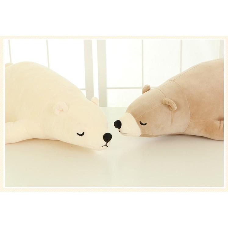 可愛北極熊公仔玩偶娃娃抱枕100 公分現預