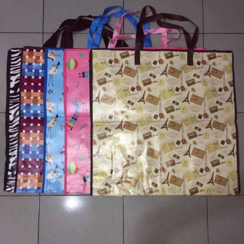 防水70 70 20 環保袋方形 袋收納袋搬家袋棉被袋玩偶袋