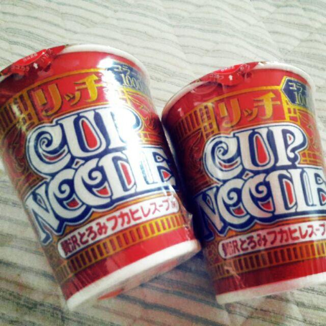 日清奢華版Cup Noodle Rich 魚翅口味