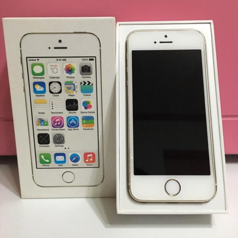 iphone 5s 16g 香檳金 機中古機