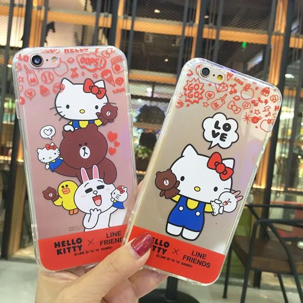 iphone6 6s KT 透明軟殼帶防塵塞iphone6plus 6splus hell
