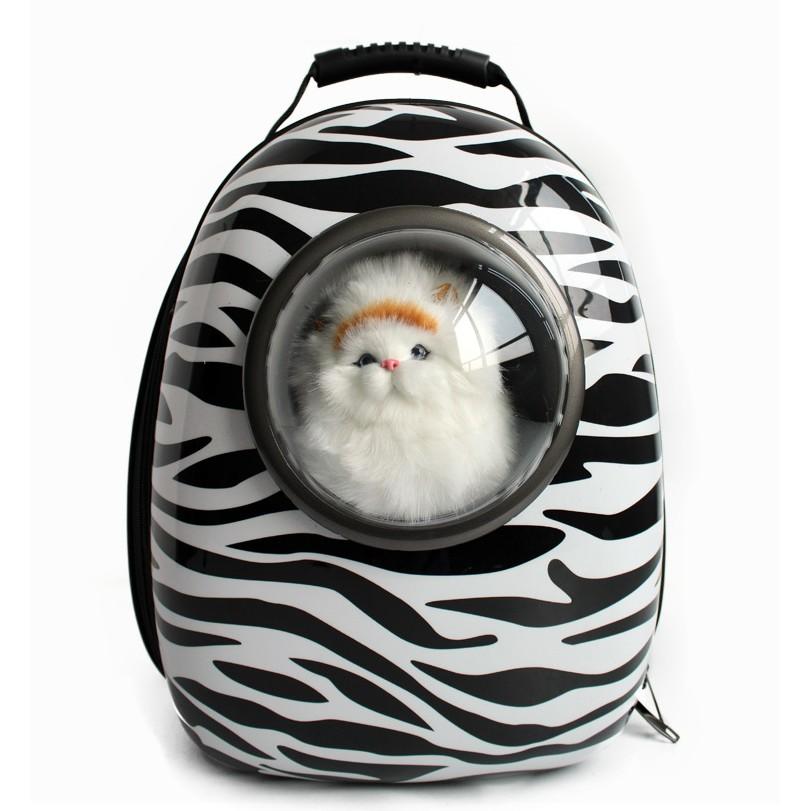 寵物太空包斑馬紋 販售~寵天使正品~寵物背包寵物後背包寵物用品太空包貓咪外出寵物外出