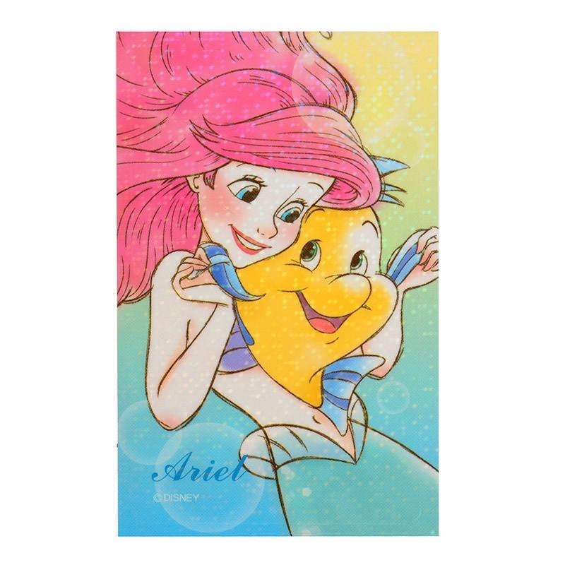 絕版 少少  帶回迪士尼小美人魚ARIEL 悠遊卡貼紙票卡IC 卡車票
