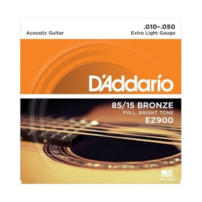 ~硬地搖滾~ 買家聊聊 !兩件!D Addario EZ 900 黃銅木吉他弦10 50
