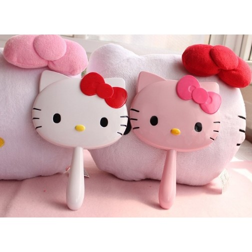 Hello kitty 化妝鏡手拿鏡~Casual ~