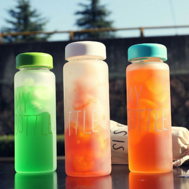 ~Smile shop ~my bottle 超 磨砂玻璃瓶 送布袋