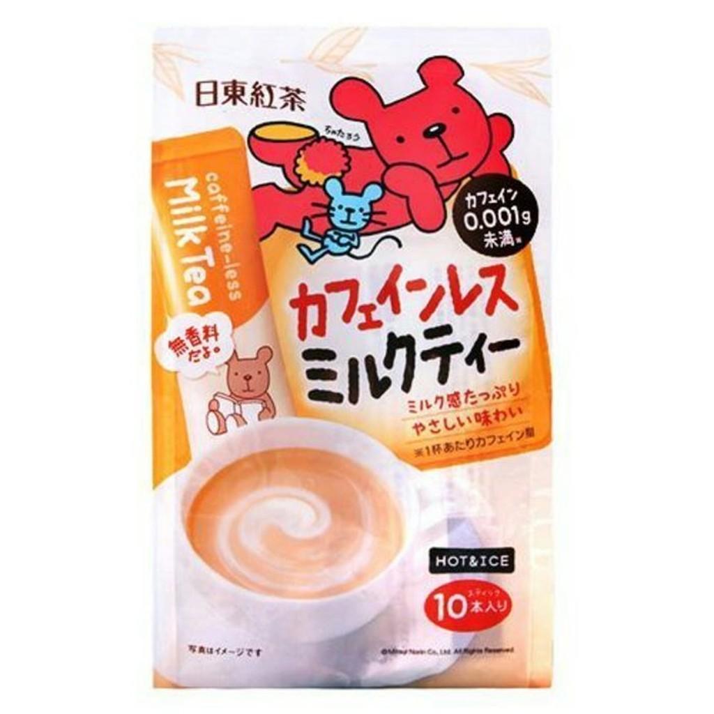 9 26 10 03 日東低咖啡因奶茶10 入兒童孕婦可喝