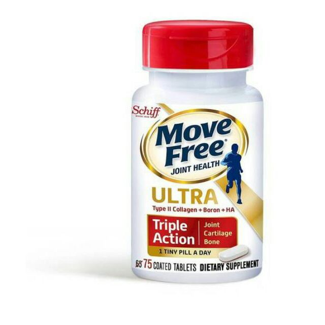 Schiff Move Free Ultra Triple Action 三倍效75 顆1