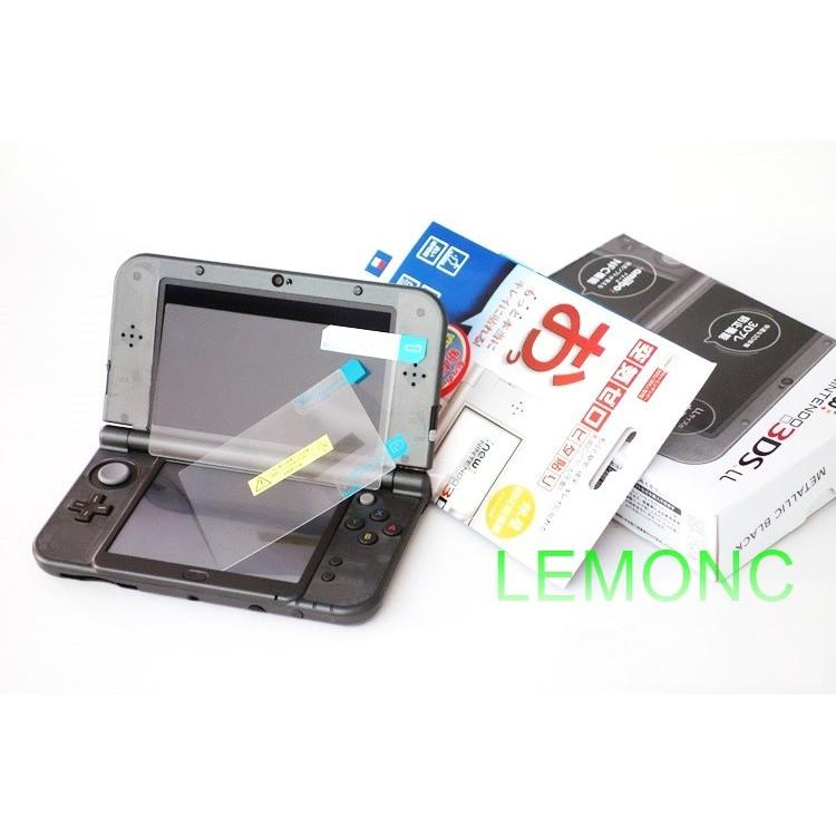 C NEW 3DS LL XL 鋼化膜鋼化玻璃膜new 3DSLL 保護貼上屏鋼貼下屏貼膜