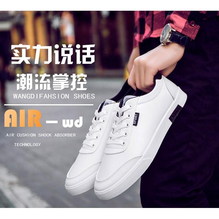 ~ 跑量~男士休閒鞋 潮流小白鞋 低幫跑步鞋學生板鞋