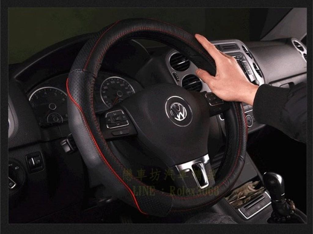 VW 福斯Jetta Beetle Passat Touran GTI GOLF 真皮方向