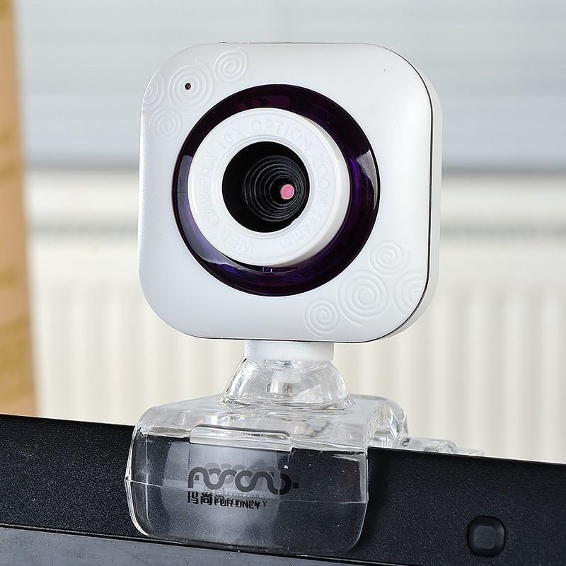攝影機免驅高清臺式機電腦視頻筆記本帶麥克風話筒夜視USB Webcam