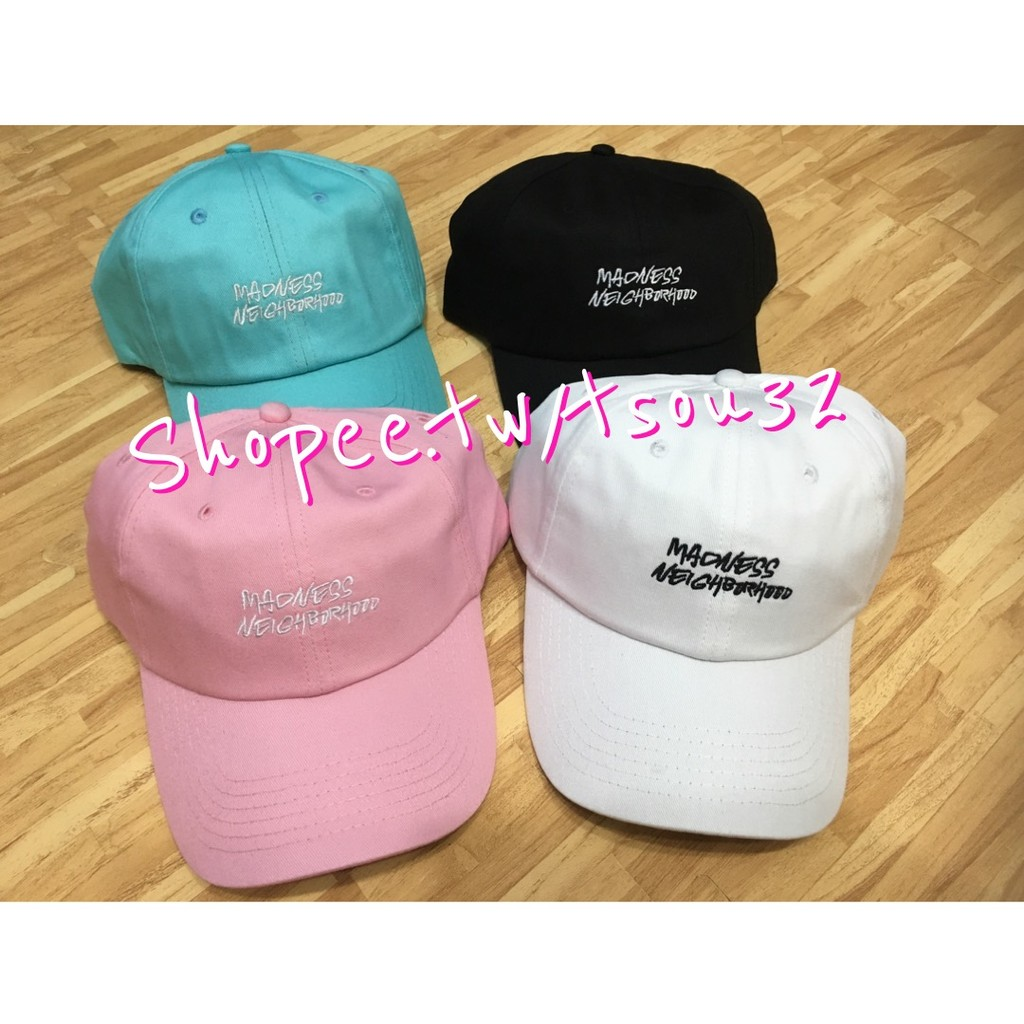 新色MDNS 老帽余文樂聯名款老帽帽子stussy ch ion 鴨舌帽高爾夫球帽