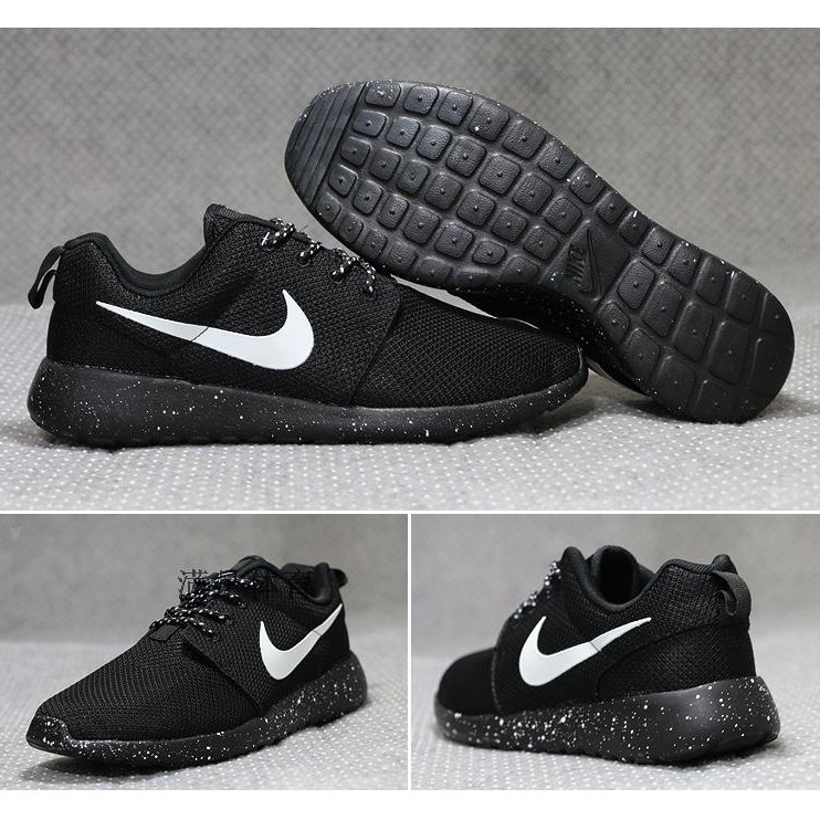 Nike Roshe run BR Oreo 休閒慢跑鞋奧利奧情侶鞋 鞋跑步鞋走路鞋