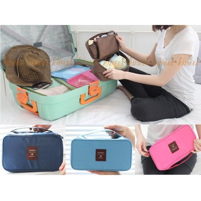 旅行內衣收納包多 手提收納包盥洗包化妝包kiwi 小舖~FG012 ~