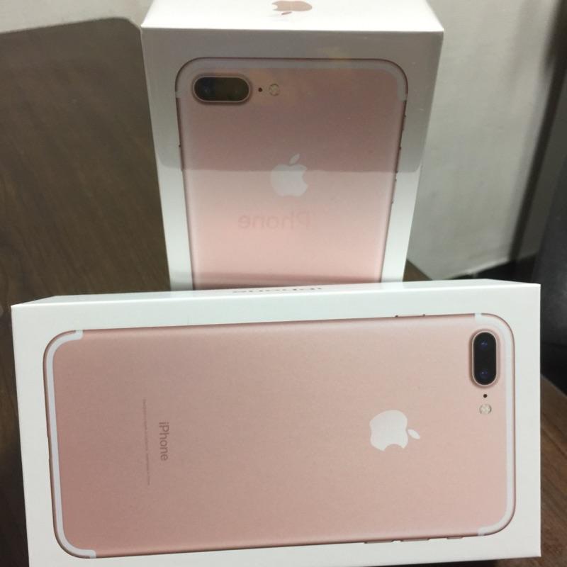 Iphone7 plus 128G 未拆 !霧黑、玫瑰金、金、銀