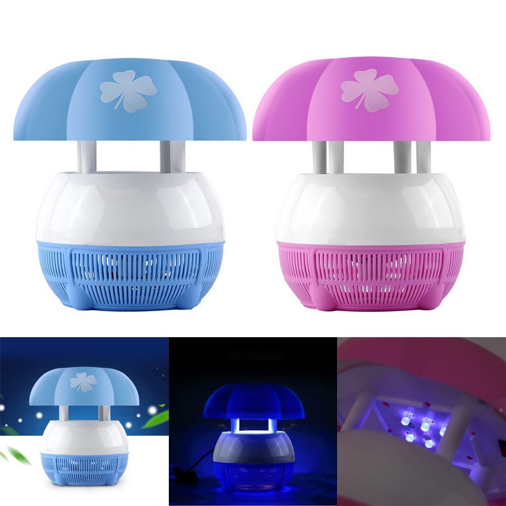 家電滅蚊燈 USB 風吸式光觸高效滅蚊燈(粉色藍色)