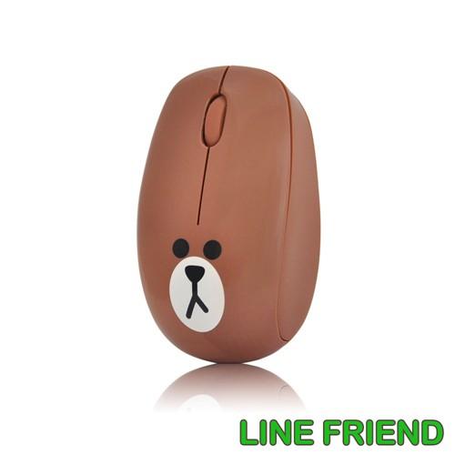 LINE Friends LINE 熊大滑鼠熊大MA06 滑鼠