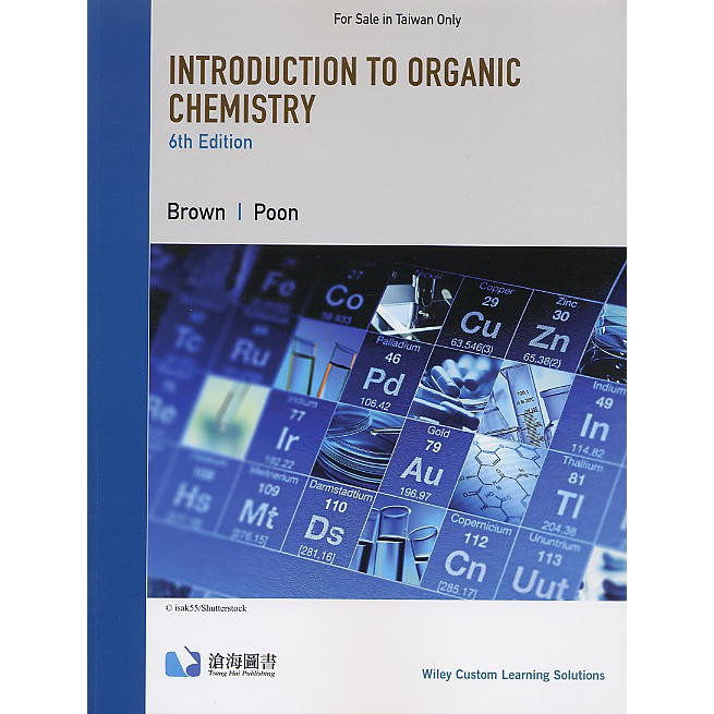 【胖橘子】INTRODUCTION T ORGANIC CHEMISTRY 6E BROWN 9781119923244