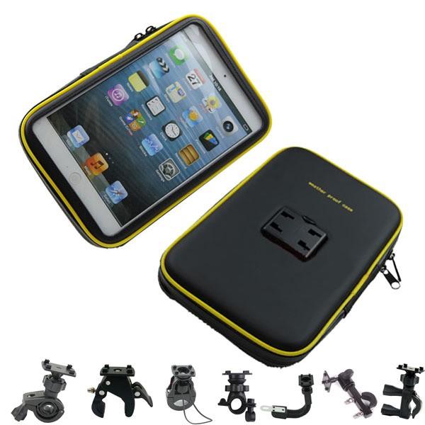 機車防水包支架保護套摩托車防水袋GPS 導航錢包手機防水包行車紀錄器自行車防水車架行車記錄