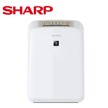 夏普SHARP 8 坪自動除菌離子空氣清淨機FU D30T W 空氣清淨機媲美國際牌Pan