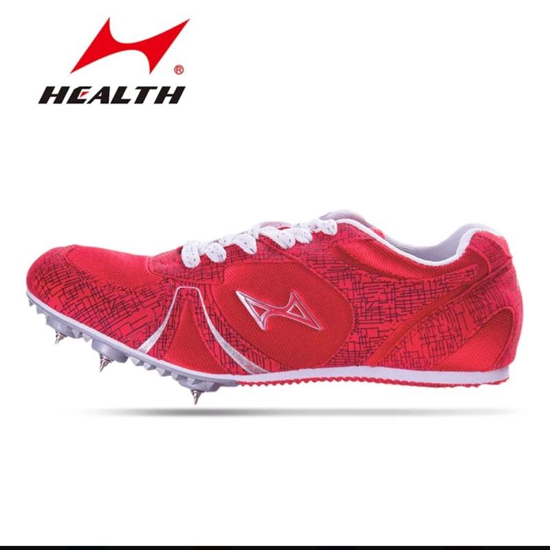 正品海爾斯正品H599 短跑跑步釘鞋男女生中跑田徑比賽 釘鞋