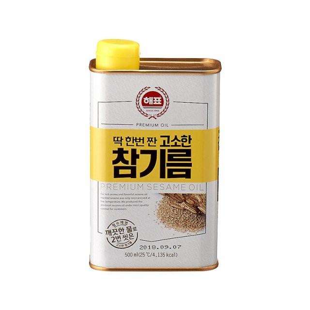 韓國sajo 思潮芝麻油香油500ml