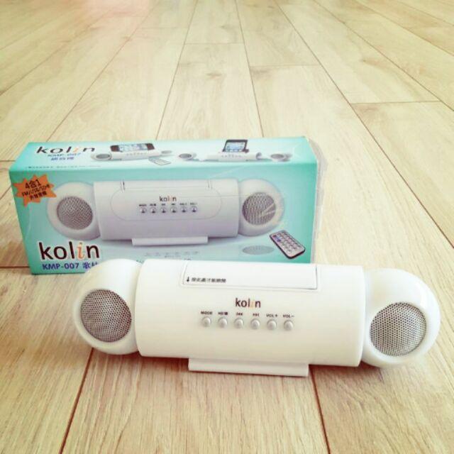 kolin KMP 007 歌林USB SD 卡直插式播放器