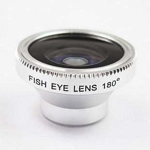 ♦蘋果iPhone4 4S 手機魚眼鏡頭FE 12 180 度廣角鏡頭