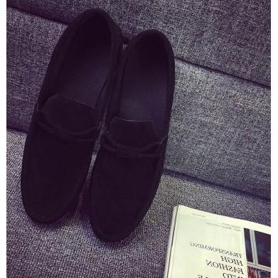 2016 年 透氣豆豆鞋男鞋真皮英倫風腳蹬懶人鞋男士休閒鞋軟