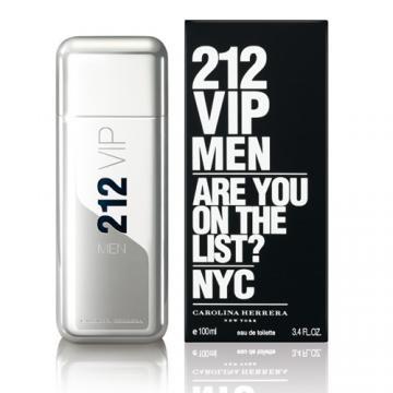 Carolina Herrera 212 VIP 男性淡香水香水空瓶分裝5ML