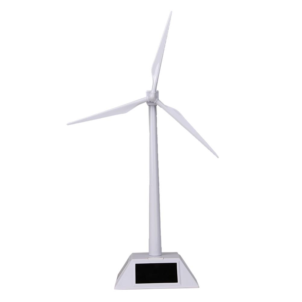 太陽能風車模型,風力發電系統教學環保科學實驗拼裝益智旋轉擺件(兩個 請選宅配)
