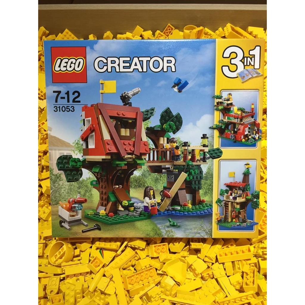 [想樂] 樂高Lego 31053 Creator 三合一 系列樹屋冒險