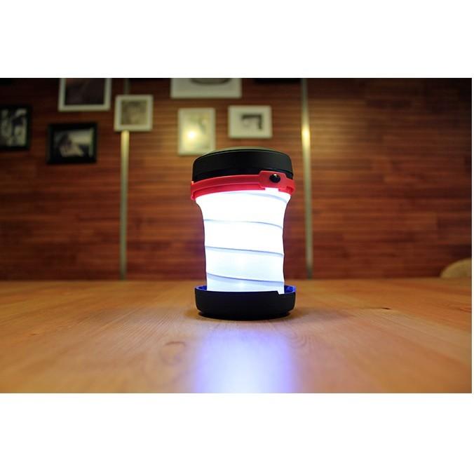 帳篷燈LED 露營燈折疊伸縮燈手電筒露營燈不含電池