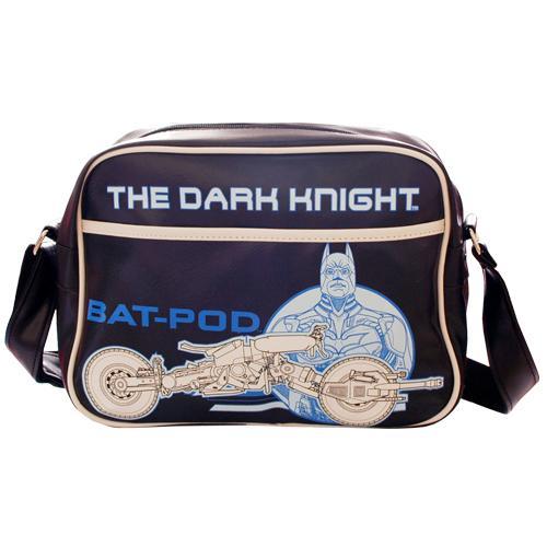 MISSCAPON ❤蝙蝠俠橫式帥氣機車包小黑色 休閒包書包側背包肩背包