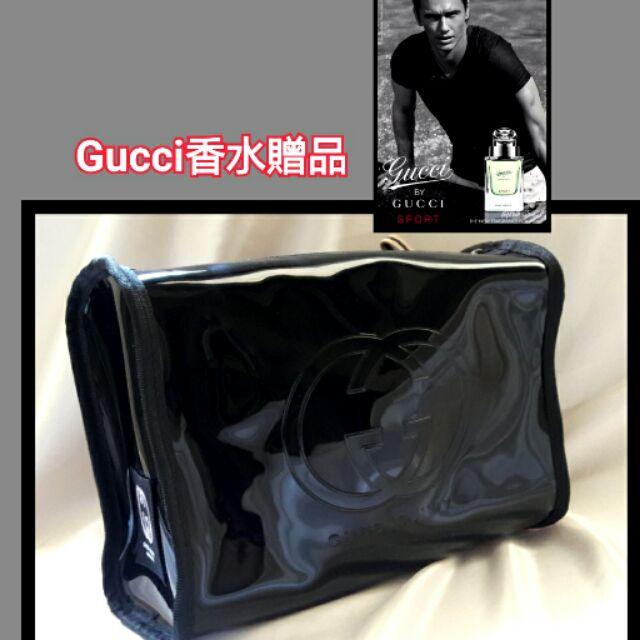 貨到 300 含運GUCCI 男士香水專櫃VIP 贈品高 大容量收納包