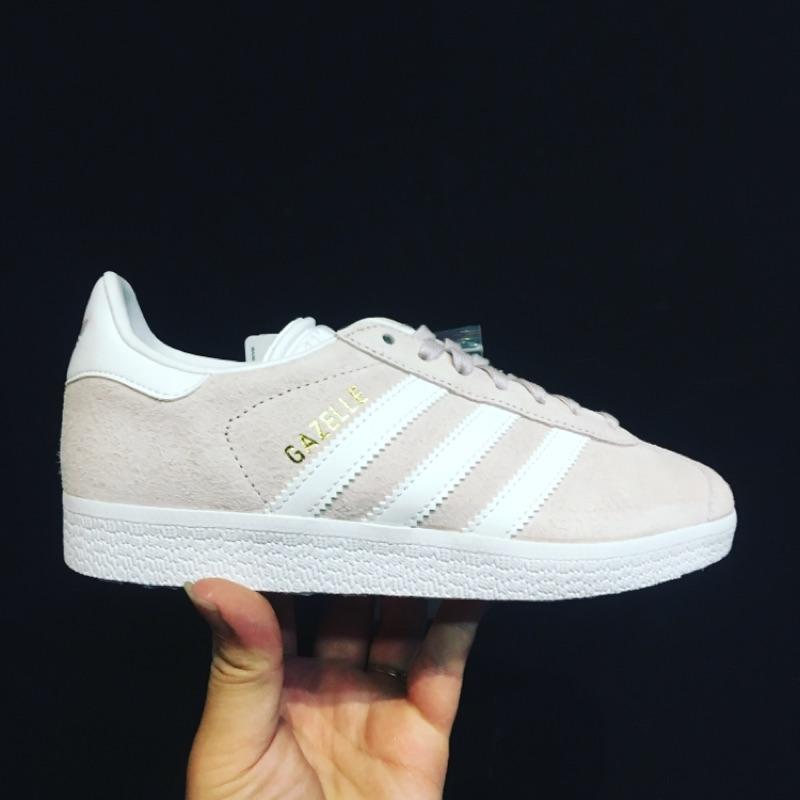 Adidas gazelle pink 復古 鞋