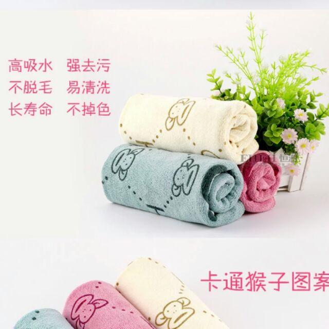超細纖維卡通毛巾