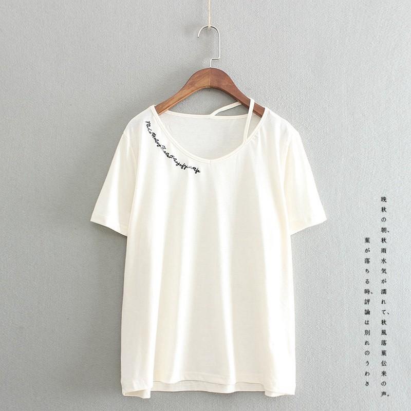 原單外銷Trip Shop 愛旅行夏裝2016 圓領T 恤棉質大碼寬鬆白色短袖女裝韓國學生