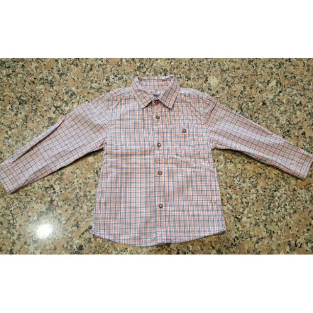 Zara baby 24 36m 格紋襯衫