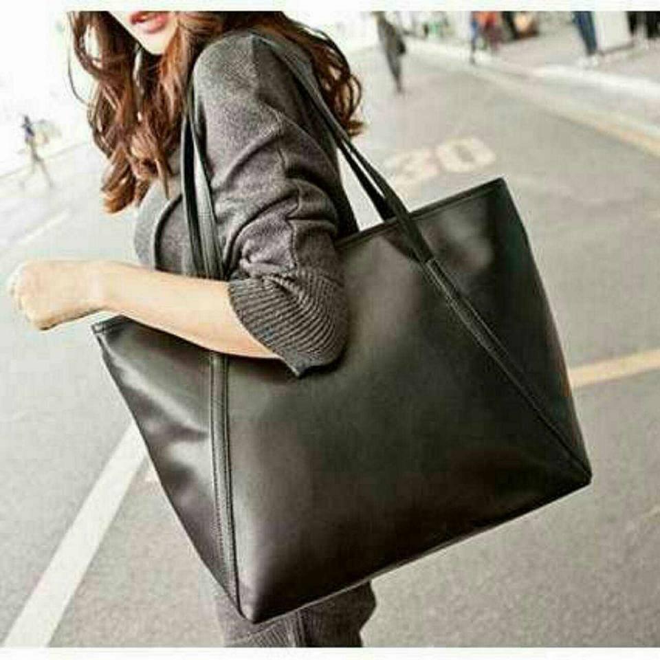 實拍 價韓國高 款 簡約清新風糖果色超大容量肩背包